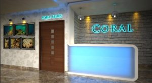 Reception of Hotel Coral Digha