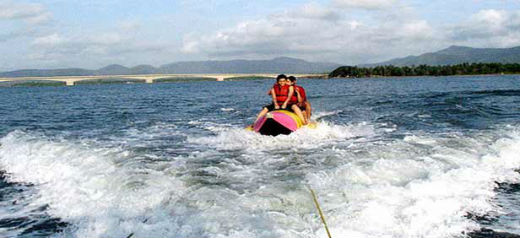 Adventure Water Sports now a major attraction in Digha